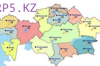 rp5 kz погода в казахстане